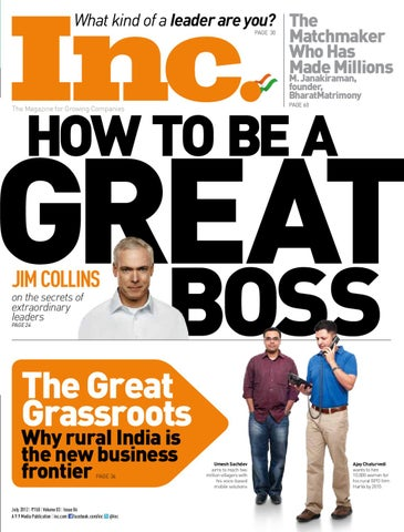 How To Be A Great Boss by Inc  India - issuu