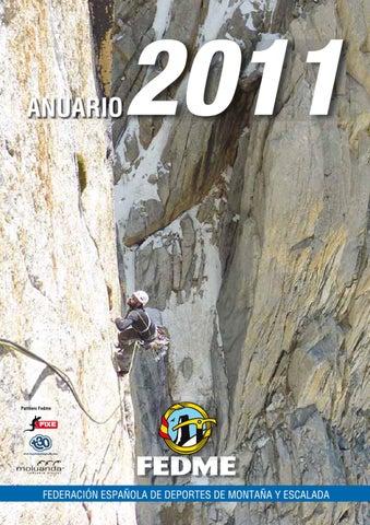 31475061f7 Anuario 2011 by FEDME - issuu