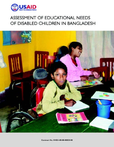 Assessment of Educational Needs of Disabled Children