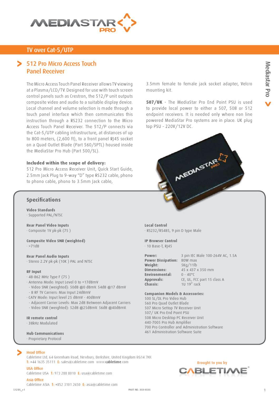 Mediastar 512-Micro-Access by Mindstec com - issuu