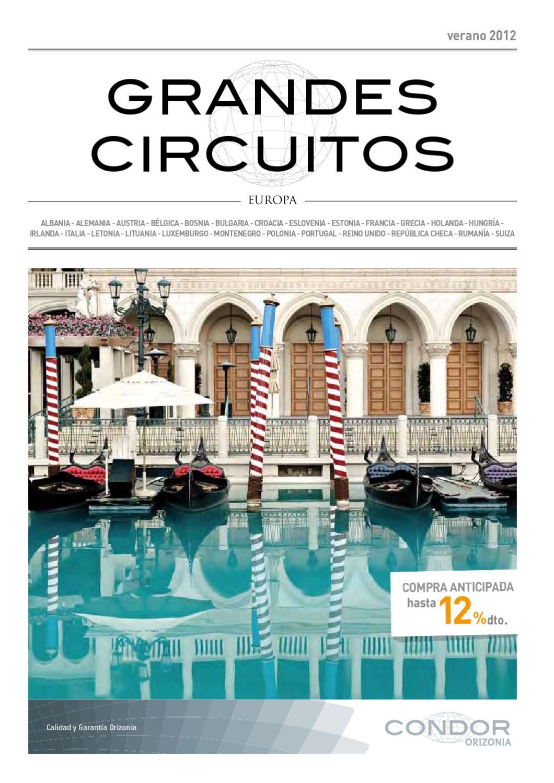 Circuito Grecia : Condor grandes circuitos 2012 by condor vacaciones issuu