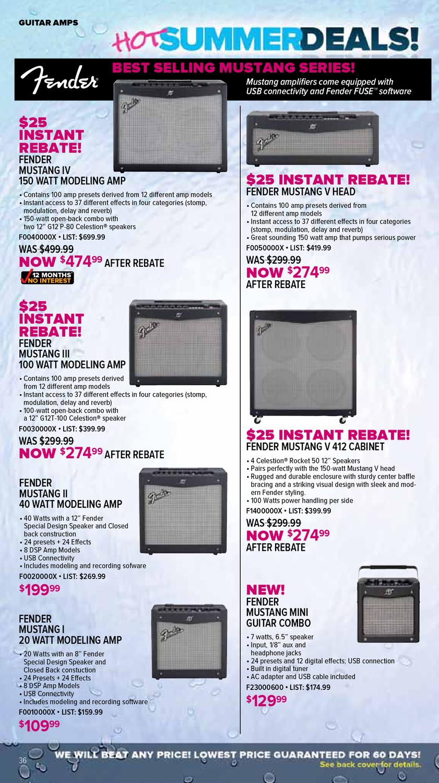 July 2012 Sam Ash Gear Guide by Sam Ash Music Corp  - issuu