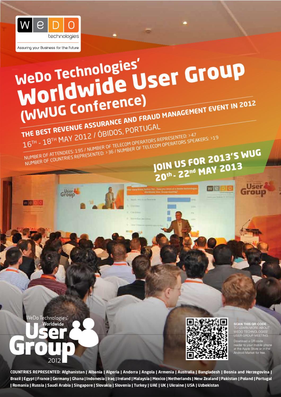 WeDo Technologies Worldwide User Group Conference Brochure