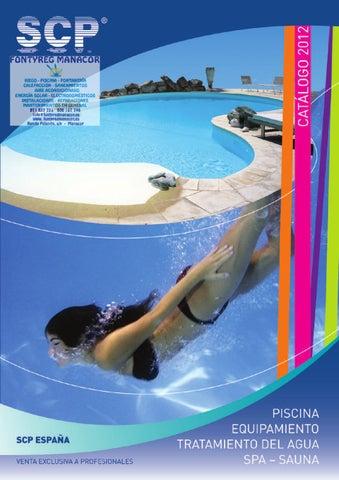Catalogo piscinas scp filtro limpiafondo cloro bomba for Instalar piscina precios