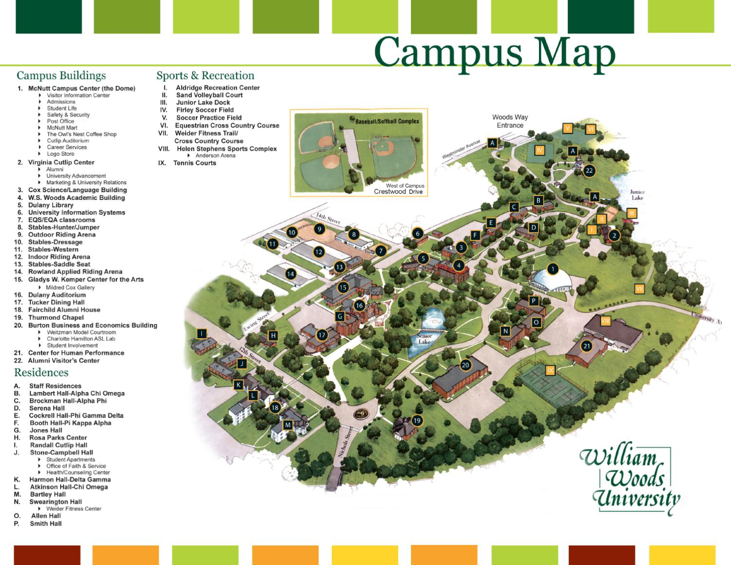 2011 Wwu Campus Map By Jenna Sommers Issuu