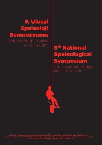 5 Ulusal Speleoloji Sempozyumu By Tamer Cekici Issuu