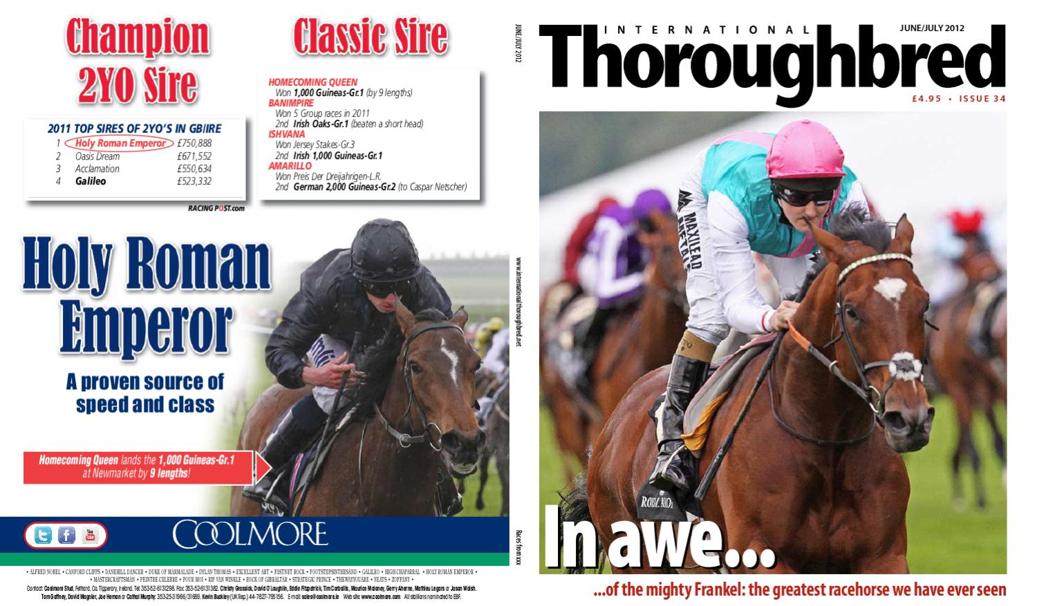 02e6363873d International Thoroughbred June July 2012 by Thoroughbred Publishing - issuu