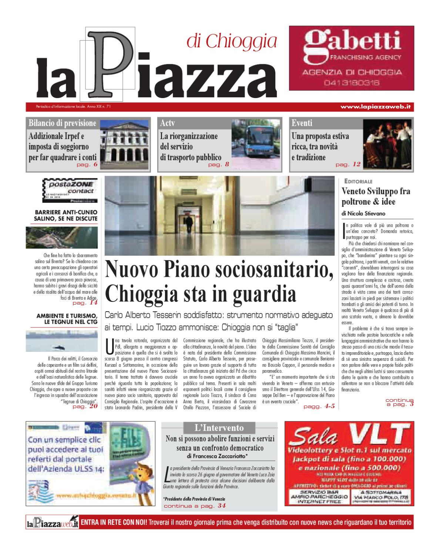 La Piazza di Chioggia - 2012 giu n71 by lapiazza give emotions - issuu 7eca1eb94215