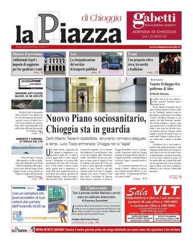 ffd5f08dba La Piazza di Chioggia - 2012 giu n71 by lapiazza give emotions - issuu