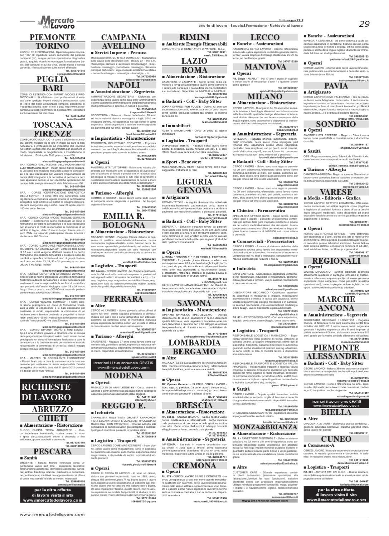 Il Mercato Del Lavoro N 56 By Curiosando Editore Srl Issuu