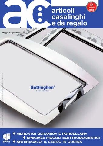 Ac articoli casalinghi e da regalo 2012 5 6 by edifis issuu for Regalo elettrodomestici milano