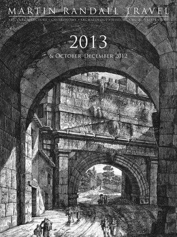 Martin Randall Travel 2012/13 Brochure by Martin Randall Travel - issuu