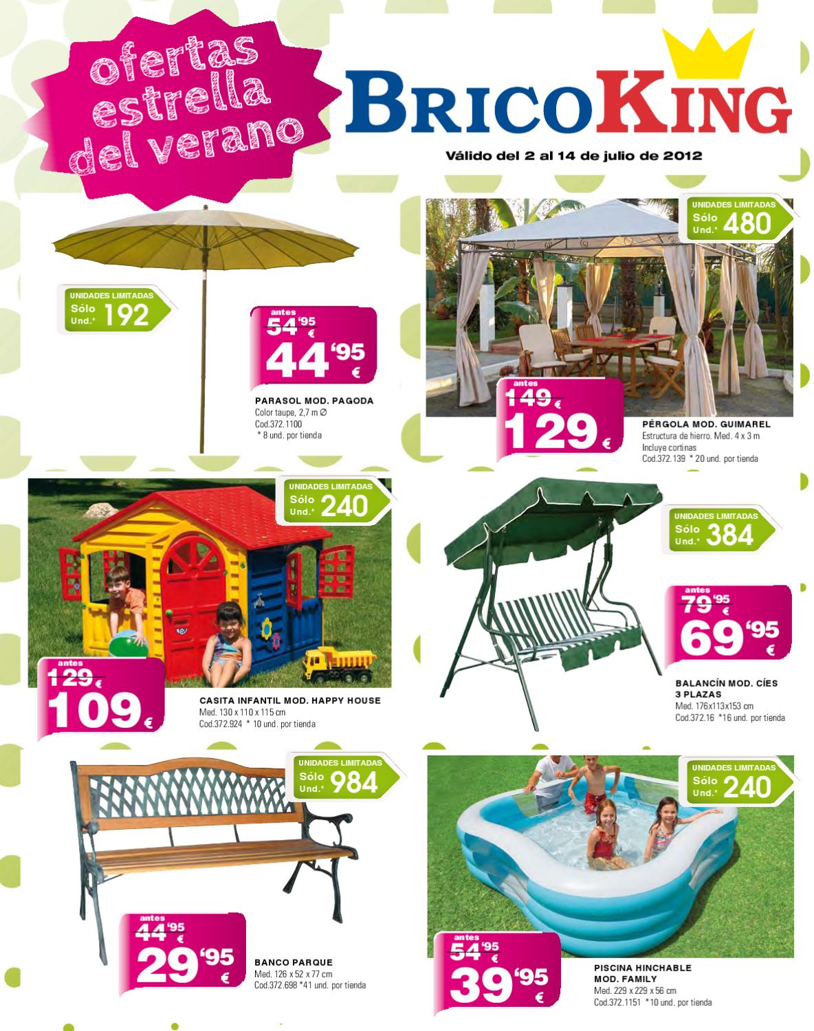 Rebajas y descuentos bricoking verano 2012 by for Piscinas bricoking