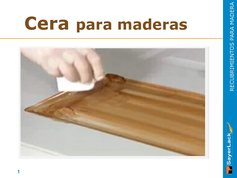 Ceras para Maderas by jose colin - issuu