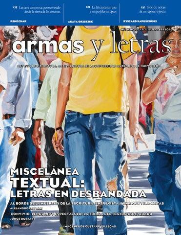 aacfa853 Armas y Letras 62-63 by Revista Armas y Letras - issuu