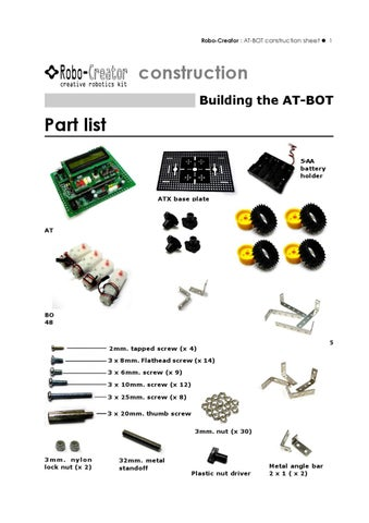 AT-BOT ConsturctionManual_E by Innovative Experiment Co ,Ltd