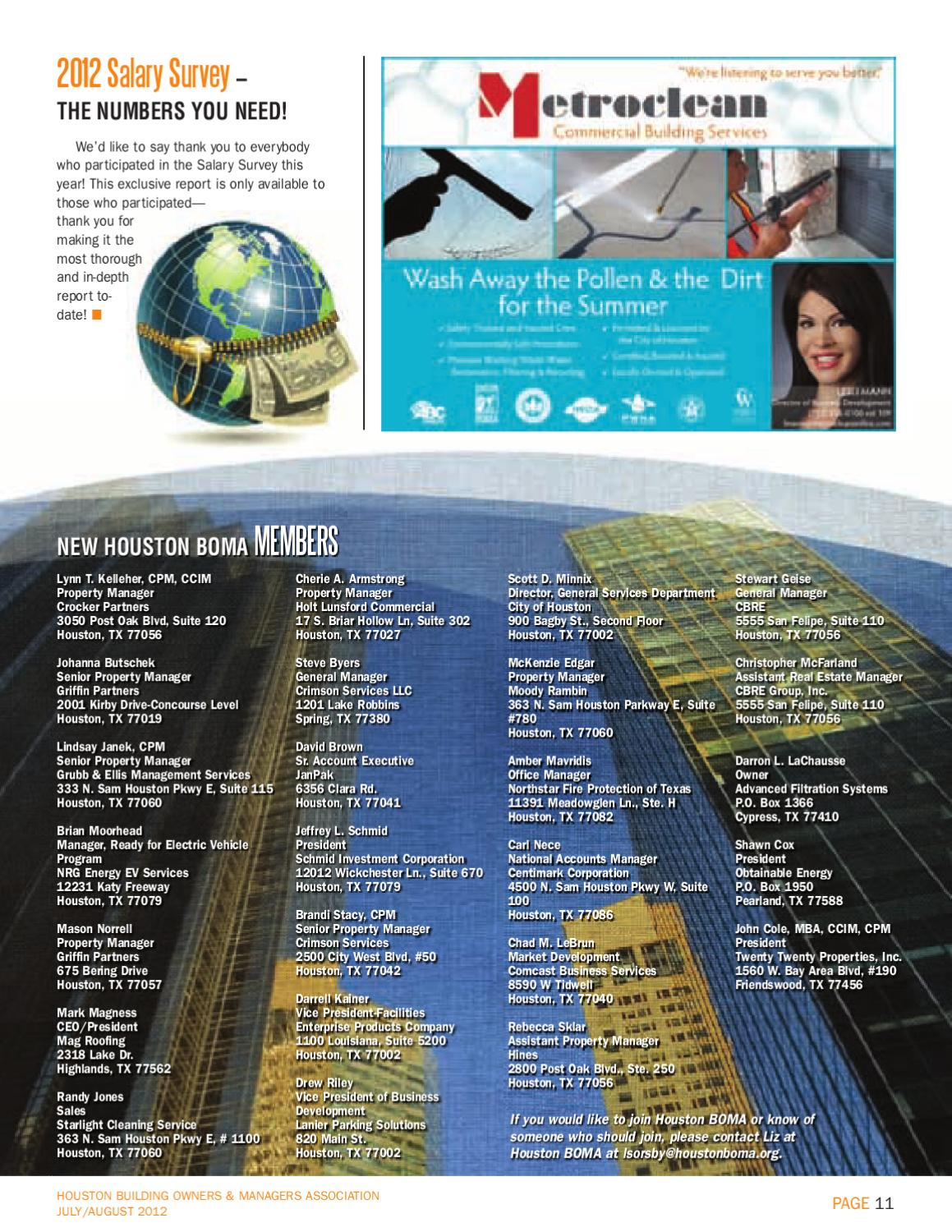 July / August Newsletter by Houston BOMA - issuu