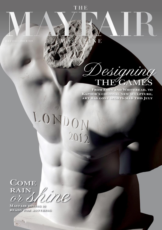 The Mayfair Magazine July 2012 By Runwild Media Group Issuu