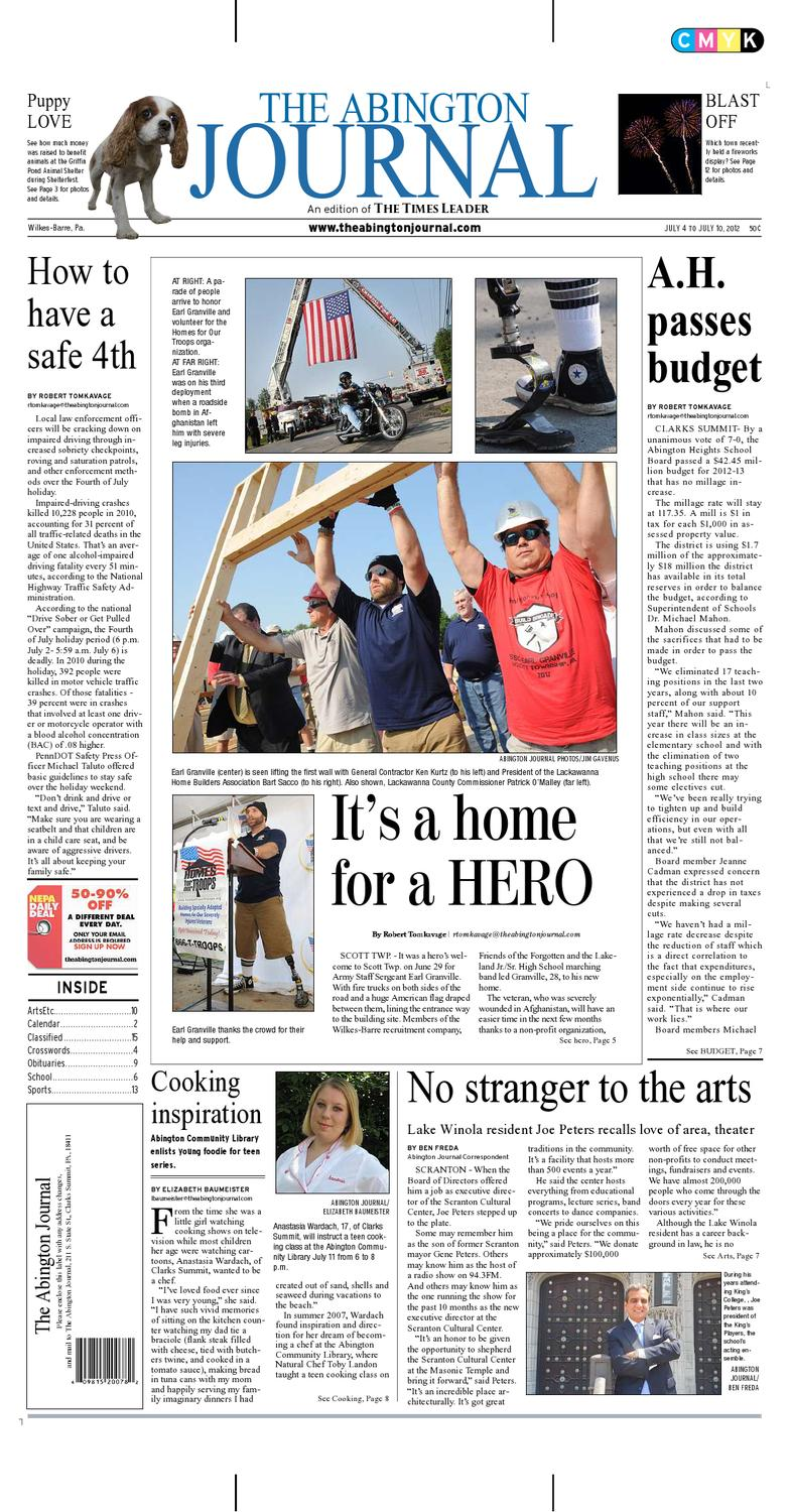 The Abington Journal 07-04-2012 by The Wilkes-Barre