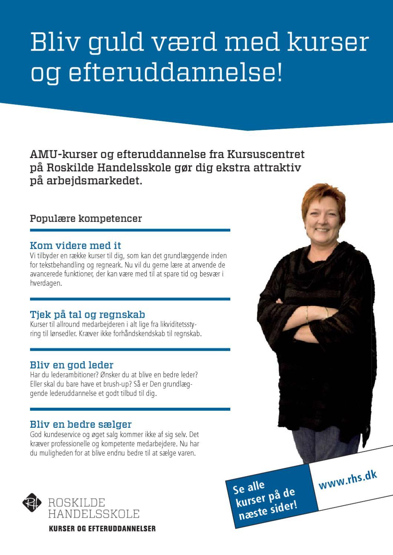 AMU på Roskilde Handelsskole by Roskilde Handelsskole - issuu