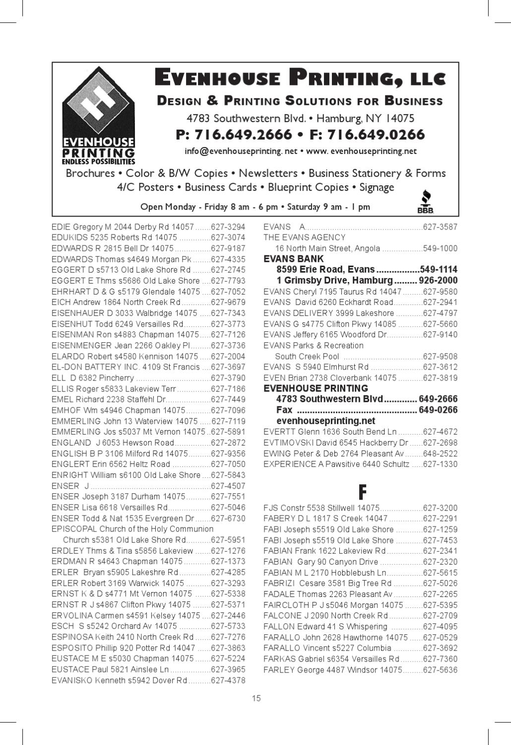 2011 2012 lakeview phone directory by southtownspennysaver issuu reheart Images