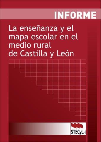 La enseñanza y el mapa escolar en el medio rural de Castilla y León ...