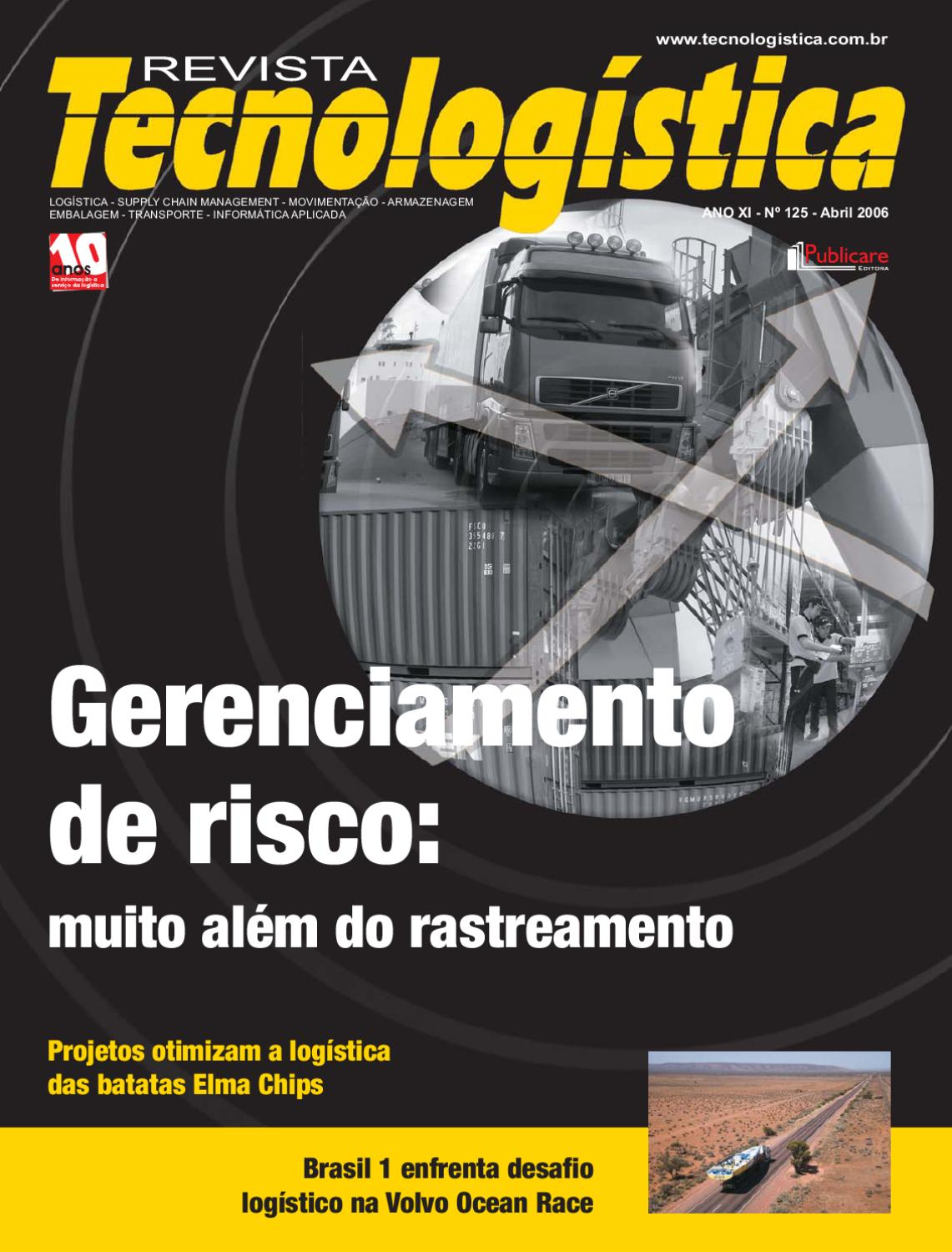0b3d8159fda Revista Tecnologística - Ed. 125 - Abril - 2006 by Publicare - issuu