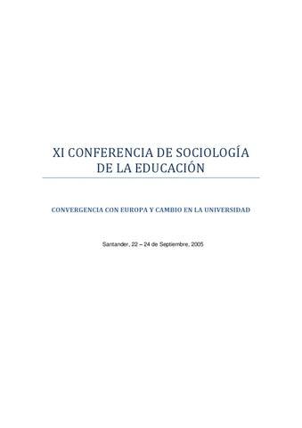 2005, XI CSE, Santander (1 de 3) by ASE - issuu
