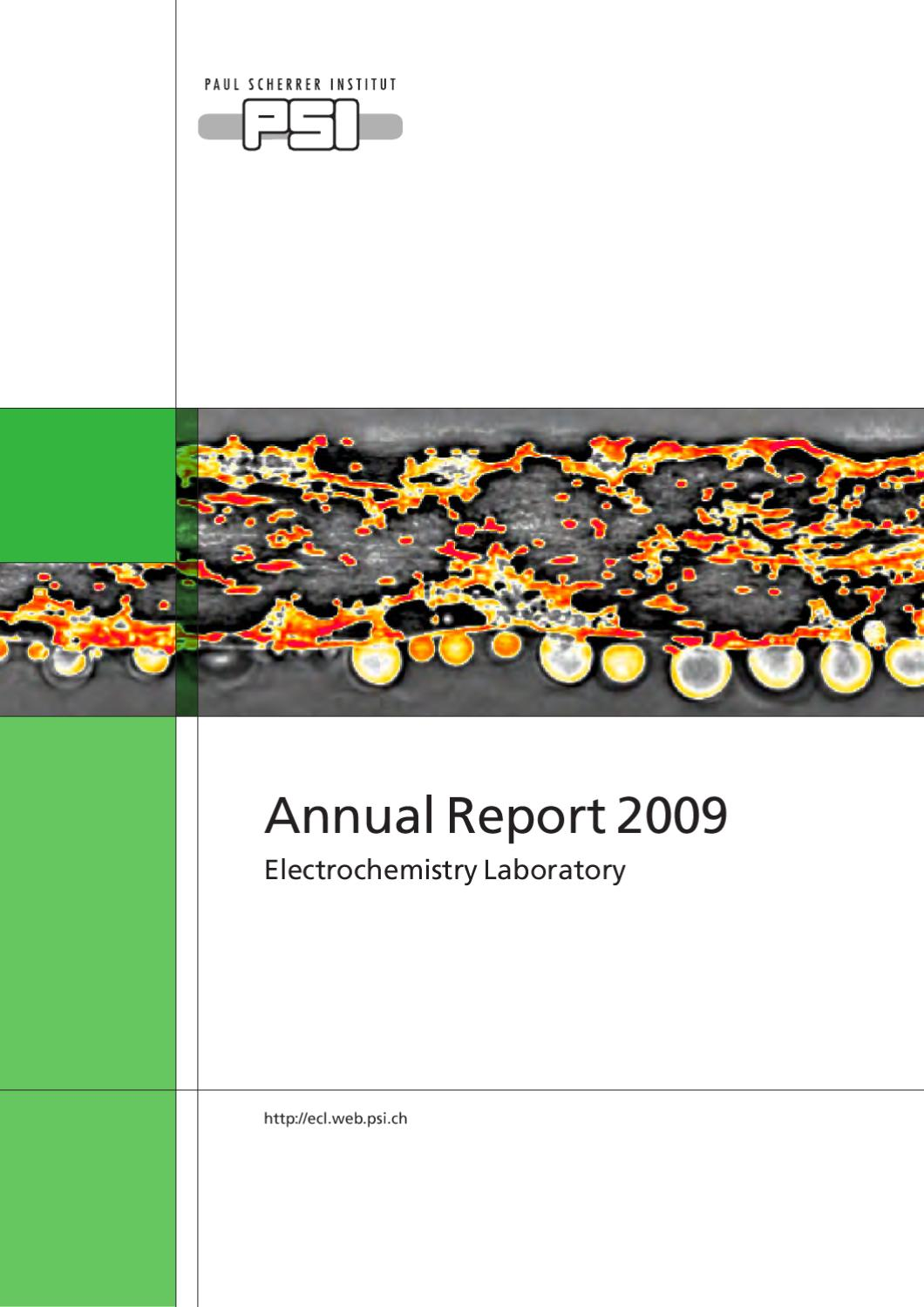 Ecl Annual Report 2009 By Paul Scherrer Institut Issuu Circuit Simulator Nor Or