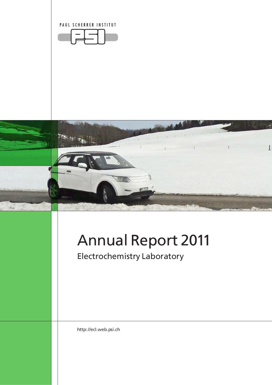 Ecl Annual Report 2011 By Paul Scherrer Institut Issuu Takauchi 145 Alt Wire Diagram