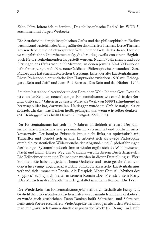 Existentialismus Jetzt By Schibri Verlag Issuu