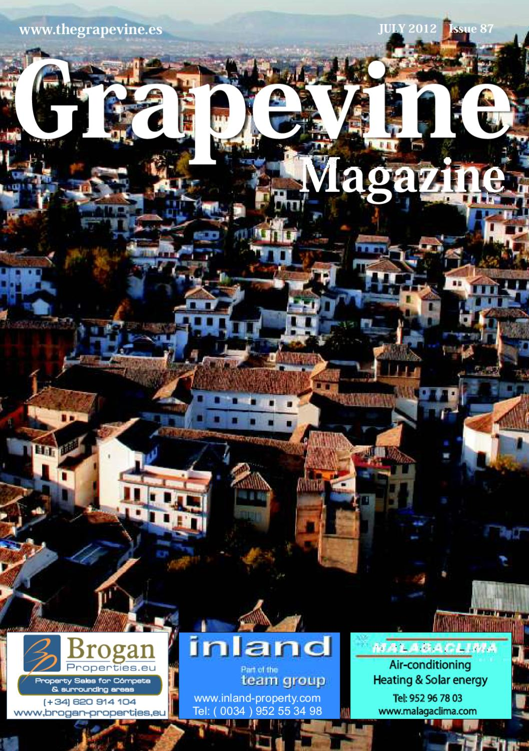 The Grapevine Magazine July 2012 By The Grapevine Magazine