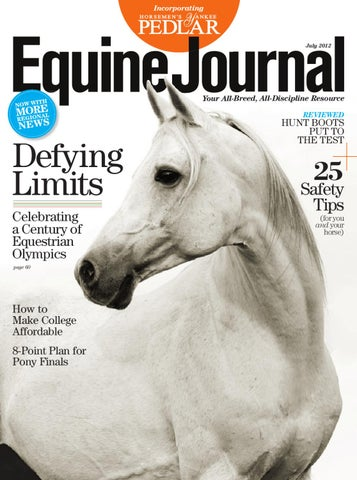 e246c175bc3 Equine Journal (July 2012) by Equine Journal - issuu