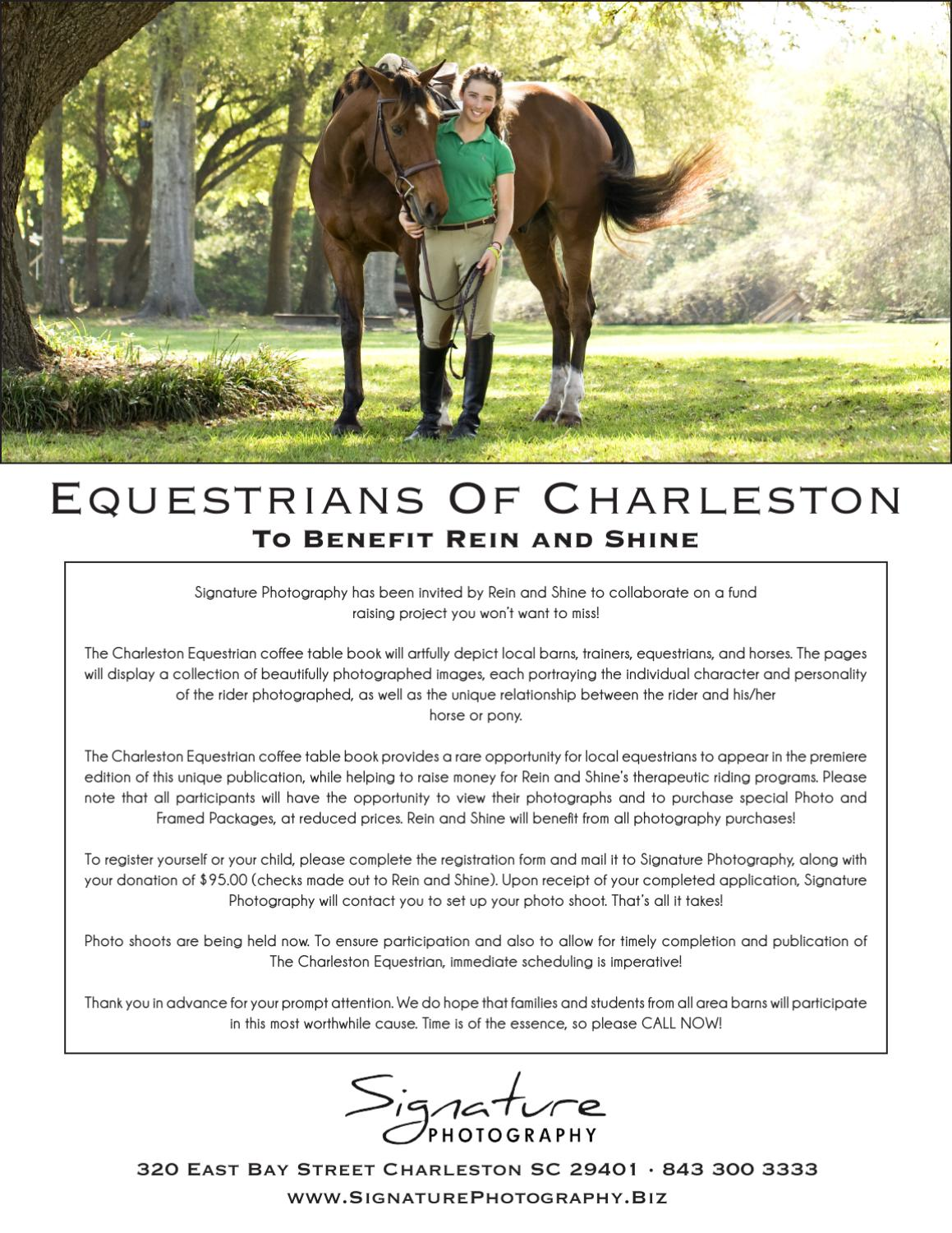 Amazing Charleston Equestrian Flyer By Eddie Toporek Issuu Pabps2019 Chair Design Images Pabps2019Com