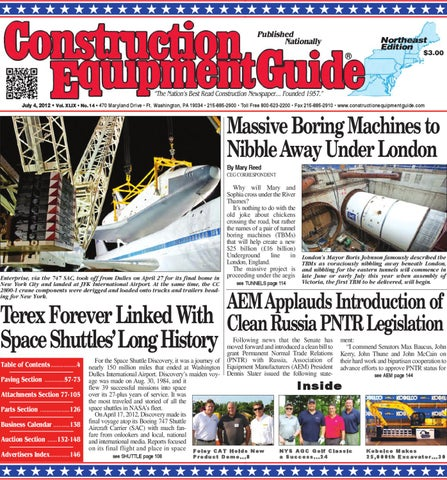 Northeast #14, 2012 by Construction Equipment Guide - issuu on