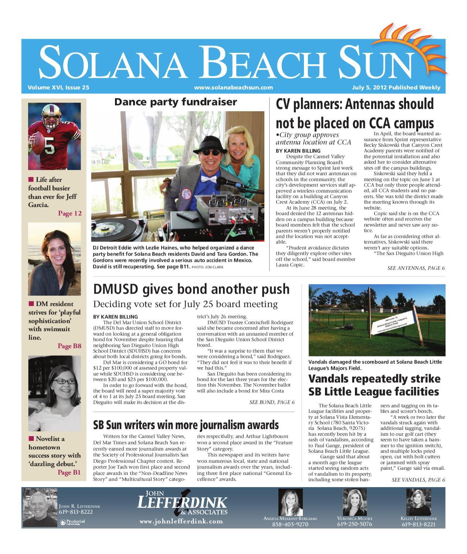 7 5 12 Solana Beach Sun by MainStreet Media - issuu