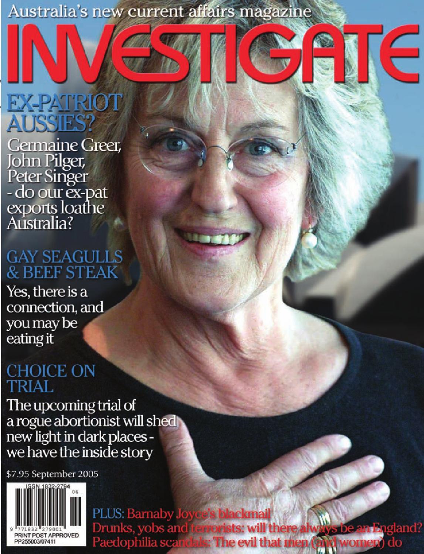 Investigate AU edition, September 2005