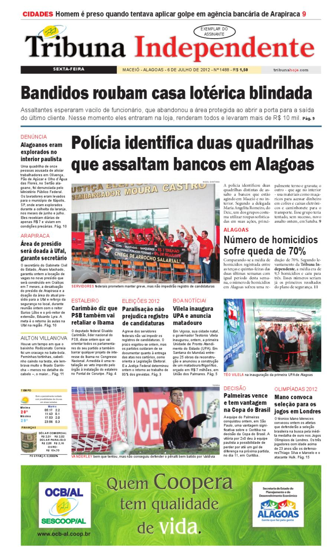 d29a7bf9e Edição número 1488 - 6 de julho de 2012 by Tribuna Hoje - issuu