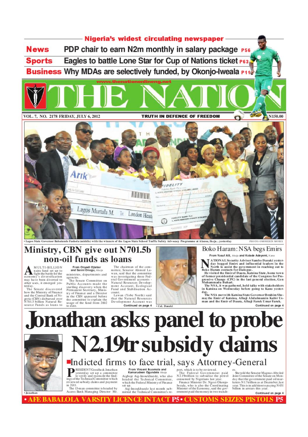 The Nation July 06, 2012 by The Nation - issuu
