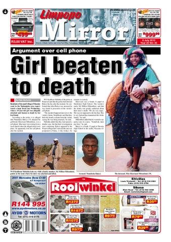 Limpopo Mirror 06 July 2012 by Zoutnet - issuu 8c3b5b526