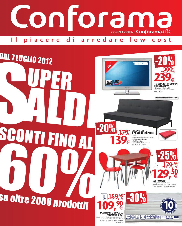 Conforama volantino 6-25 Luglio 2012 by CatalogoPromozioni.com - issuu