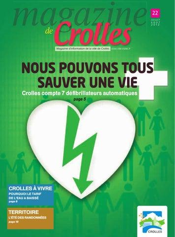 Juillet ao t 2012 magazine de crolles by ville de for Piscine de crolles