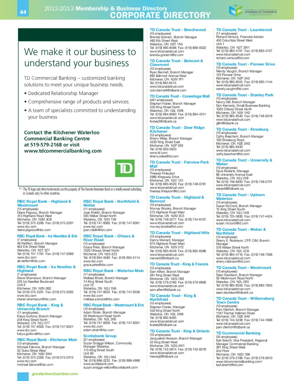 2012-13 Membership & Business Directory by Natalie Hemmerich - issuu