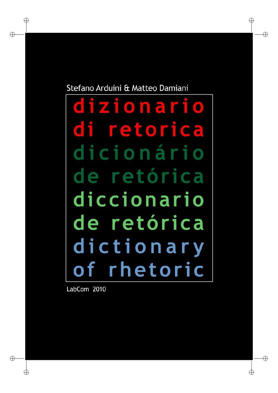 Dizionario Di Retorica By Carlos Hee Issuu