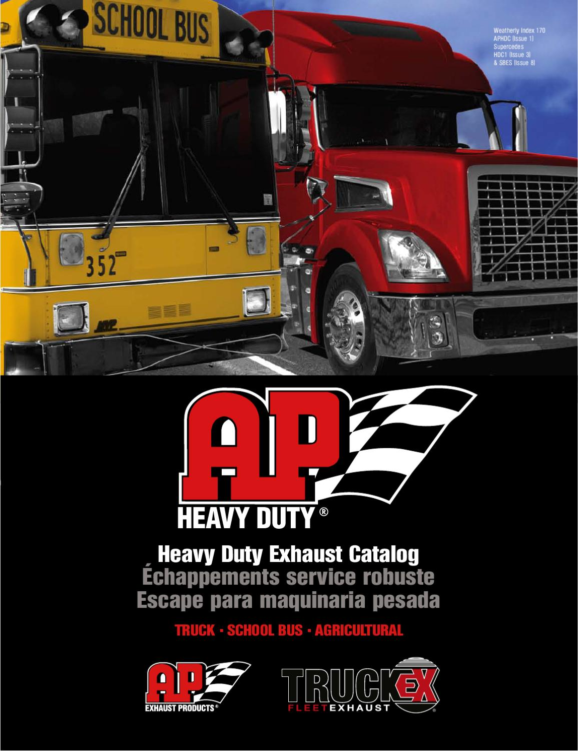 aphdc hd exhaust catalog by ap exhaust issuu