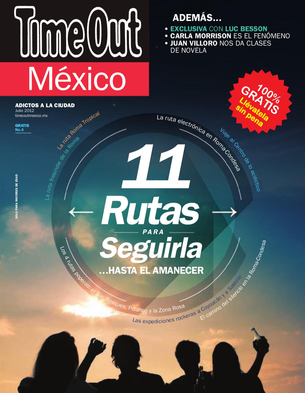 cf5925e677af1 Time Out México Julio 2012 by Time Out México - issuu