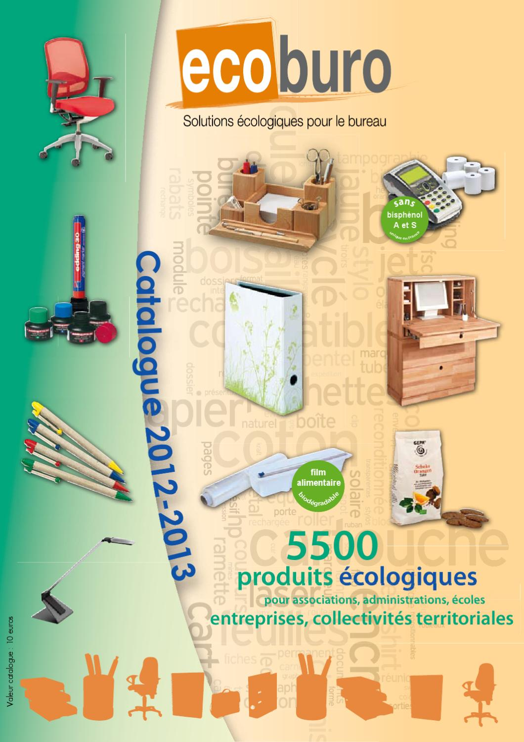 Catalogue Ecoburo 2012-2013 by Ecodis - issuu d137487064e