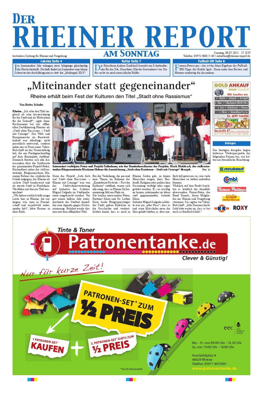 KW27 2012 By Rheiner Report GmbH   Issuu