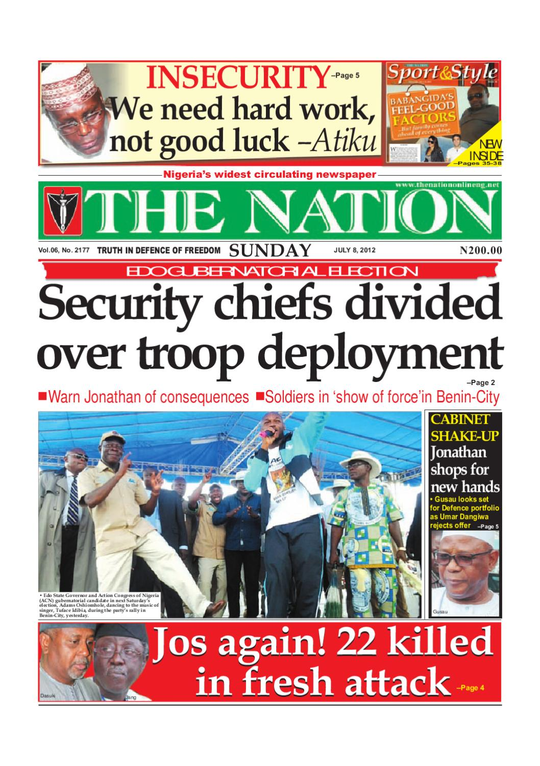 The Nation July 08, 2012 by The Nation - issuu