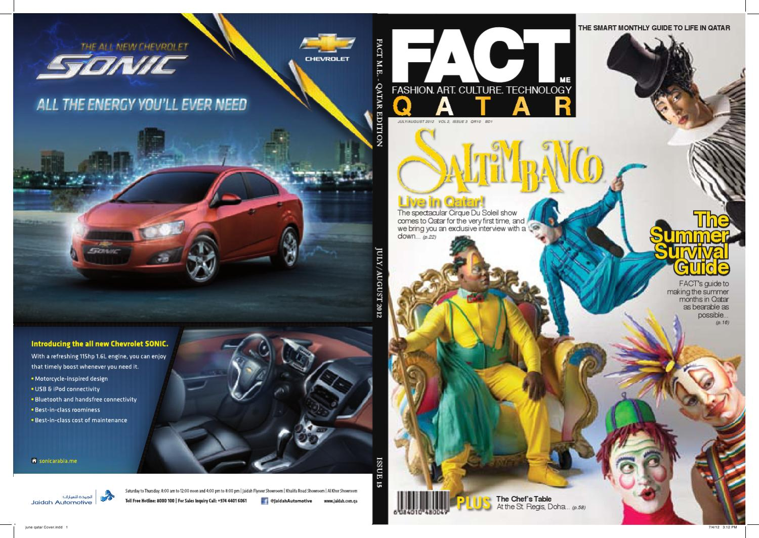 32344b011689 FACT Magazine Qatar July + August 2012 by Fact Magazine - issuu